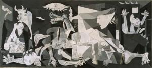 obra de Picasso: Guernica.