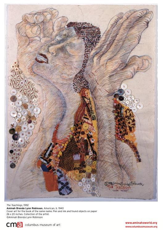 "Obra artística: ""The teachings"" Amina Brenda Lynn Robinson, 1992"